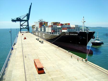 porto itapoá expansão navios hyundai loyalty brasil comércio exterior mercado internacional externo negócios business trading unq import export criciuma santa catarina comex blog